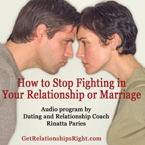 How to Stop Fighting in Your Relationship or Marriage Audio Program