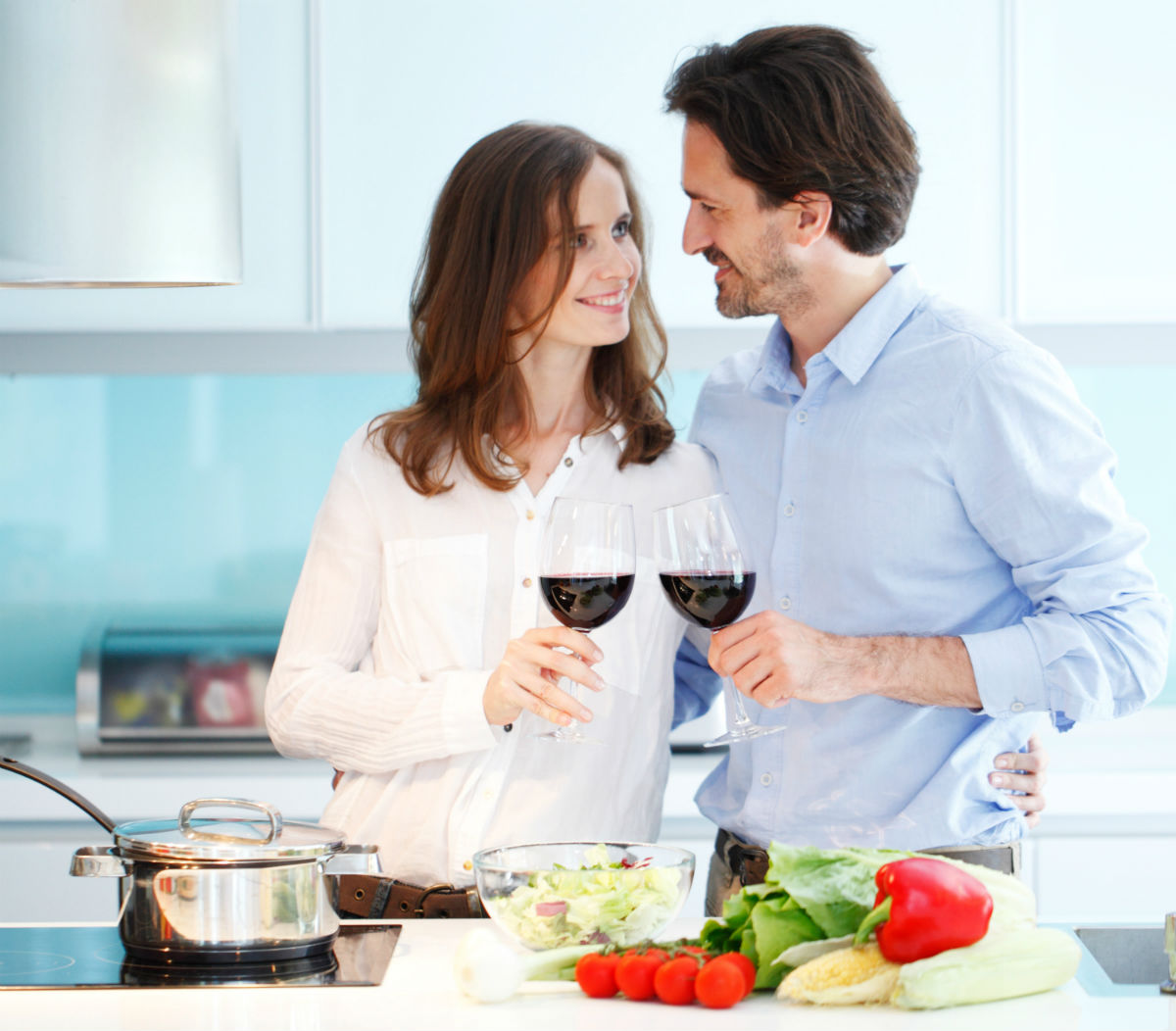 cooking up healthy relationship